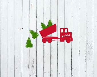 Christmas truck svg, christmas tractor svg, antique truck svg, svg christmas designs, svg christmas files, christmas svg designs