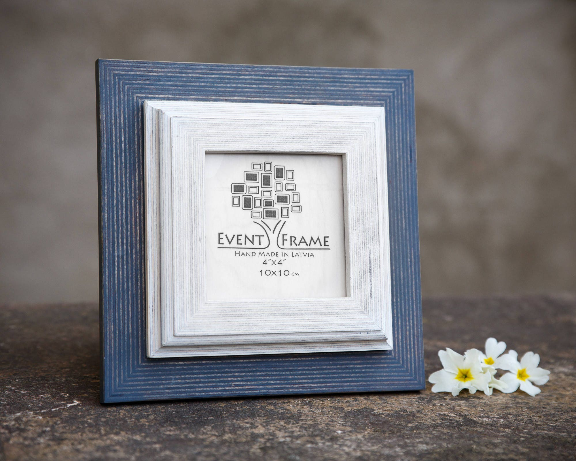 White picture frame wooden photo frame rustic frame sizes 4x4 sold by eventframe jeuxipadfo Choice Image