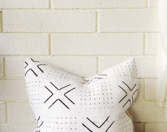 African Mudcloth Pillow Covers, available in different sizes