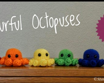 Colourful Octopuses