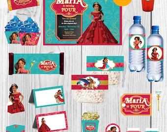 Elena Of Avalor Birthday, Elena Of Avalor Party, Elena Of Avalor Decoration, Elena Of Avalor Invitation, Elena Of Avalor Party Supplies