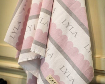 "The ""Lyla"" Blanket PERSONALIZED"