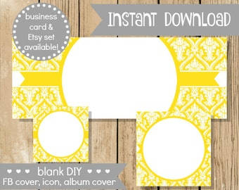 Blank diy facebook set pink gold hearts do it yourself blank diy facebook set yellow damask do it yourself blank facebook cover yellow solutioingenieria Image collections