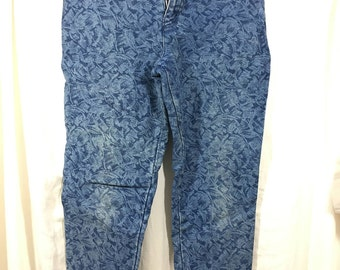 80s Womens Stirrup Jeans