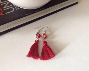 """Lady Bug """"La Coccinella"""" Earrings"""