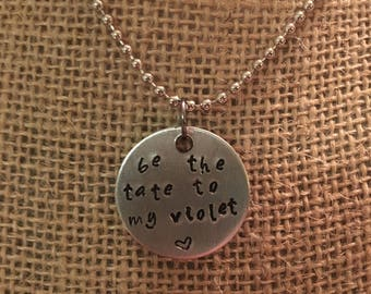Be the tate to my violet necklace AHS