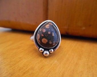 SALE! Teardrop Ring (size 7.5)