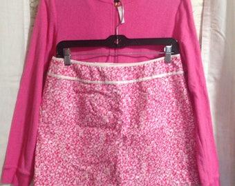 Lilly Pulitzer skirt, Pink mini skirt, short skirt, summer skirt, fun skirt, preppy skirt,