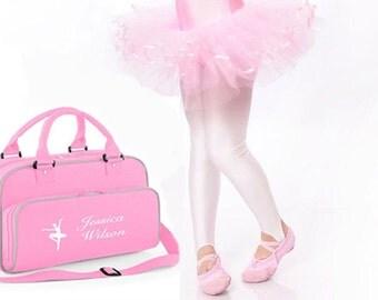 Personalised Dance Bag,ballet bag, gymnastics bag,girls bag, sports bag