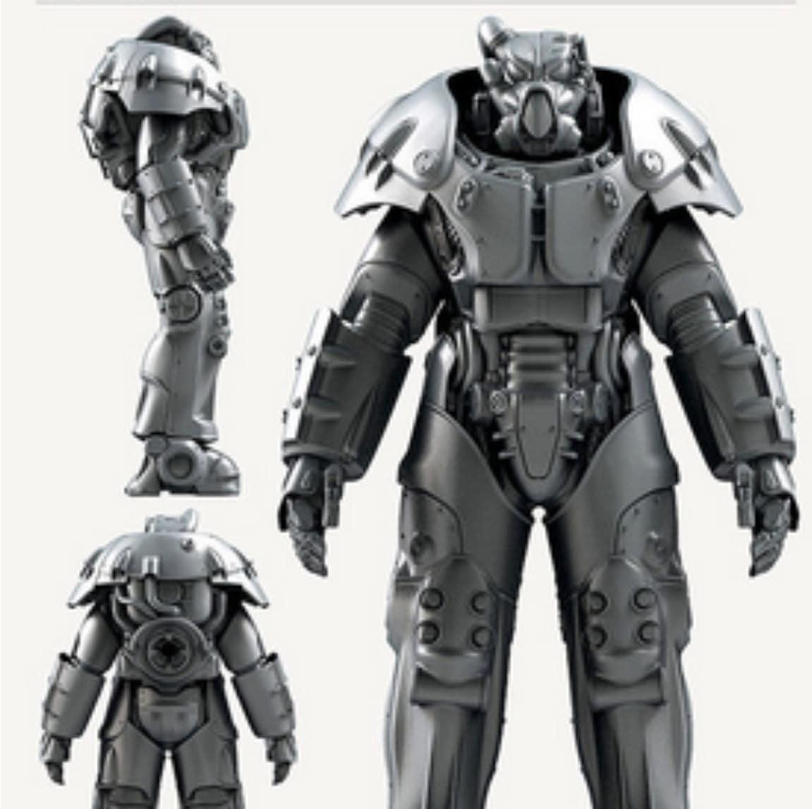 Fallout 4 X-01 power armor wearable cosplay pepakura paper ...