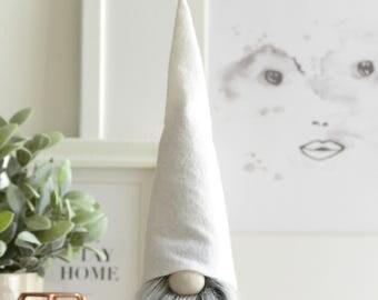 Scandinavian Home Gnome, Nordic Inspired Home Decoration, Nordic Gnome, JUNIOR size tomte, Hygge