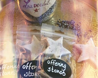 Offering Stones, Altar, Mother Earth, Give Back, Witchcraft, Pagan, Wicca