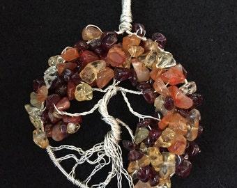Autumn Tree of Life Sculptures (hanging)