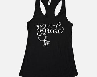 Bride Tank Top - Bride Tank - Bridal Tank Tops - Engagement Gift for Bride - Bachelorette Party Tanks - Gift for Bride - Bridal Shower Gift