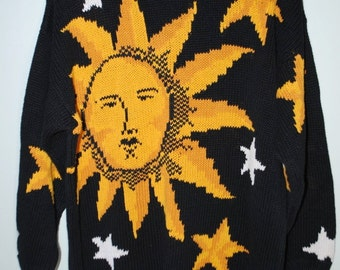 Sun And Star Knit Sweater
