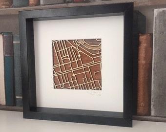 221B Baker Street Map - Sherlock Map - London Map - Framed London Art - Limited Edition Art - Sherlock Gift - Sherlock Holmes - Sherlock Art