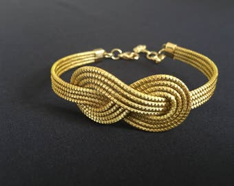 Infinity Golden Grass Bracelet / Capim Dourado / Organic Jewelry / Pulseira Oro Vegetal
