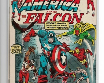 CAPTAIN AMERICA #154 vs.Avengers