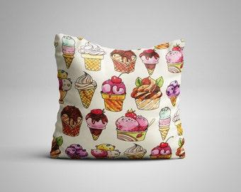 Ice Cream Cushion.
