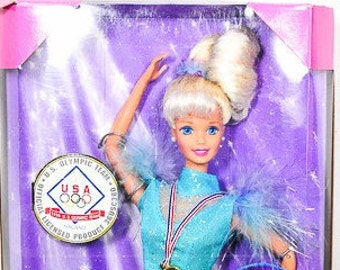 Barbie Ice Skater Olympic Collectable-  Vintage