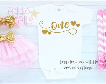 1st Birthday Outfit Girl It's My First Birthday Outfit Pink Gold Birthday Outfit cake smash outfit Its My Birthday Girl one 1 birthday B13P
