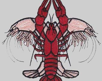 Shrimp & Crawfish Fleur de Lis