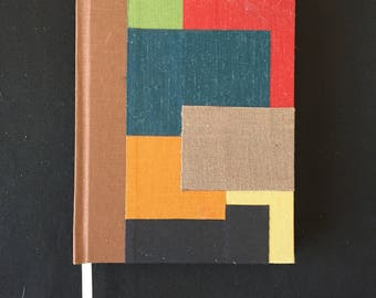 Hard Cover Patchwork Journal