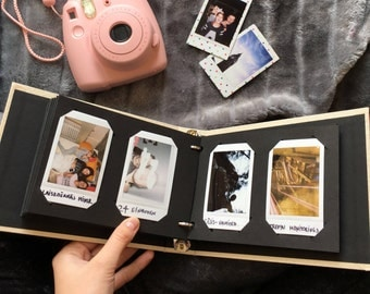 Instax Mini Album. Instax Photo Album for 60 Photos. Instax Wedding Guest Book. For Fujifilm Instax Mini 8, 9, 7s, 25, 50s, 70, Neo 90.