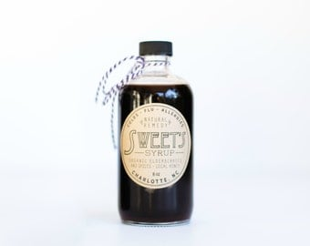 Organic Elderberry Syrup 8oz
