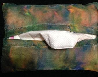 Handpainted Travel Tissue Cover