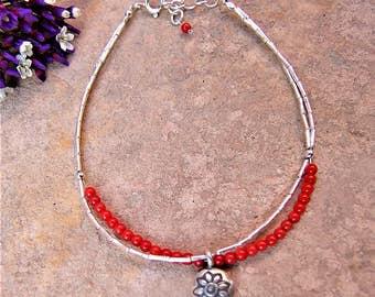 Bracelet of silver. Jewelry of silver. Ethnic bracelet. Ethnic jewelry. Silver Jewelry. Ethnic Jewelry. Hill Tribe silver bracelet.