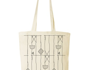 screen print tote bag