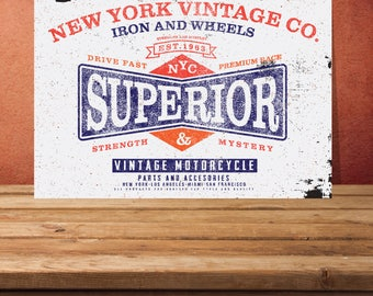 superior metal sign home decor superior sign home wall art custom decor - Metal Signs Home Decor
