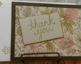 Thank You Card; Greeting Card; Thanks for Thoughtfulness; Thanks Greeting Card; Thank You for Being Thoughtful; Thoughtful card