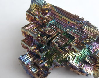 ON SALE! 30 % OFF 106 Gram Multi Coulored Bismuth Crystal