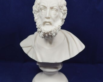 Homer statue bust ancient Greek poet sculpture