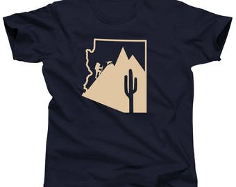 Limited Edition Arizona Hiking With Dog Lover Tshirt by Ruff Terrain and Oh My Paw'd