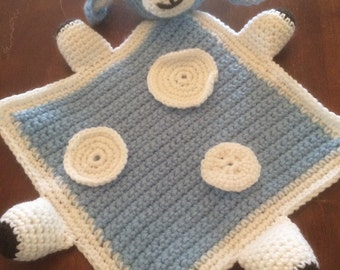 Infant/Toddler First Loveable Snuggable Bunny Blanket Toy