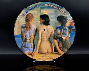 PINK FLOYD VINYL Record - Rare Beauties - Picture Disc Vinyl Record - Limited Edition Live: Italy / Uk / Japan / Usa - Great Gift!
