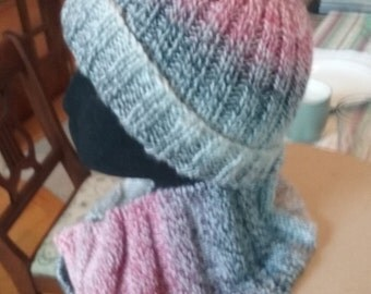 Flat Top Knit Hat