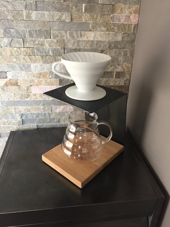 Bodum Pour Over Coffee Maker Instructions : Pour Over Stand HARIO V60 coffee maker manual brew dripper