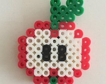 Apple Pin - Perler Bead