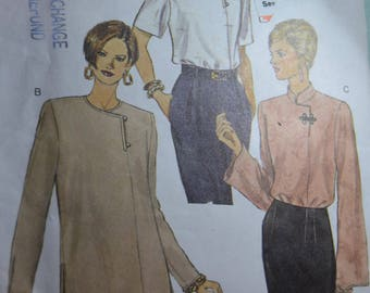 Vogue 9040 Misses Top and Tunic Sewing Pattern - UNCUT - Size 12 14 16