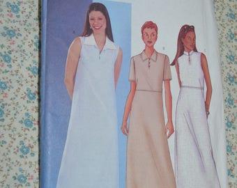 Butterick 3075 Misses / Misses Petite Dress Sewing Pattern - UNCUT - Size 8 10 12