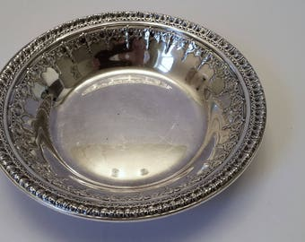 Reed and Barton 1202 Silver Plate Bowl circa 1939