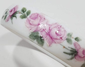 Beautiful Porcelain Painted Bracelet Bangle