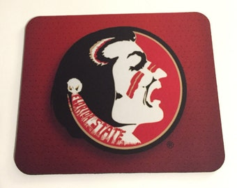 FSU Mousepad Old Logo Head