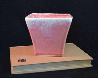 McCoy Pottery Small Pink Jardiniere - Unique