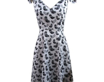 Rockabilly Dress 50s Style Sundress