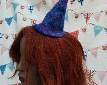 Blue Tiny Witches Hat
